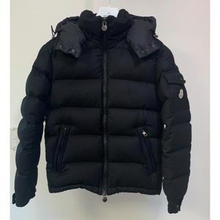 モンクレール(MONCLER)の16AWモンクレールモンジュネーブル黒100%正規美品 ウール ダウンジャケット(ダウンジャケット)