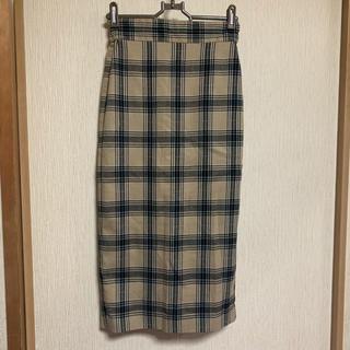 GU - GU♡チェックタイトスカート