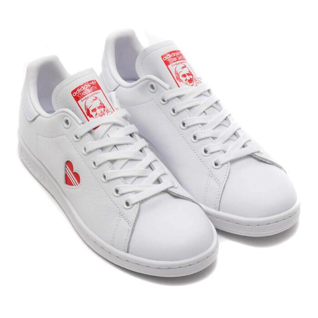 adidas(アディダス)の新品★スタンスミスハート★22.5センチ レディースの靴/シューズ(スニーカー)の商品写真