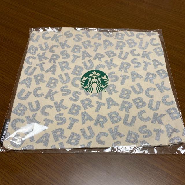 Starbucks Coffee(スターバックスコーヒー)のスターバックス   ミニトート シルバー エンタメ/ホビーのコレクション(ノベルティグッズ)の商品写真