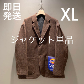 BEAMS - XLサイズ Mens Tweed Jacket ツイードジャケット 単品売り