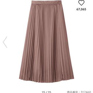 GU - GU プリーツスカート M