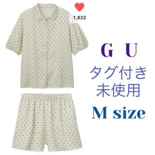 GU - GU✨パジャマ(ドットキャット)✨タグ付き未使用