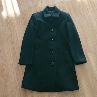 アールユー(RU)のタグ付き未使用☆ru☆Aラインコート 黒 ブラック(ロングコート)
