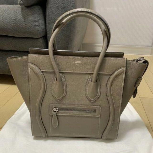 celine(セリーヌ)のCELINE セリーヌ ラゲージ ナノ ショッパー 2WAYバッグ メンズのバッグ(トートバッグ)の商品写真