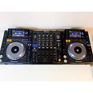 Pioneer - CDJ-2000NXS+DJM-900NXSフルセット wifiルーター付き