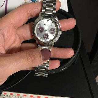 agnes b. アニエスベー クロノグラフ クォーツ 腕時計