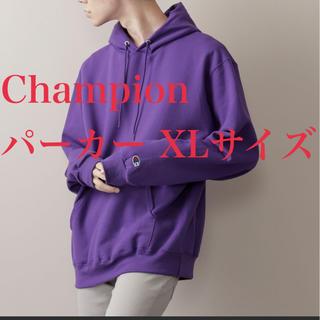 Champion - 美品 Champion チャンピオン スウェット ビッグ プル パーカー XL