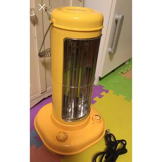 IDEA カーボンファンヒーター nostal stove オレンジ