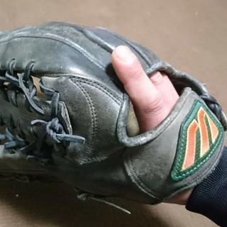 ミズノ(MIZUNO)のMIZUNO ビューリーグ  軟式用 グローブ 外野手用  左利き用(グローブ)