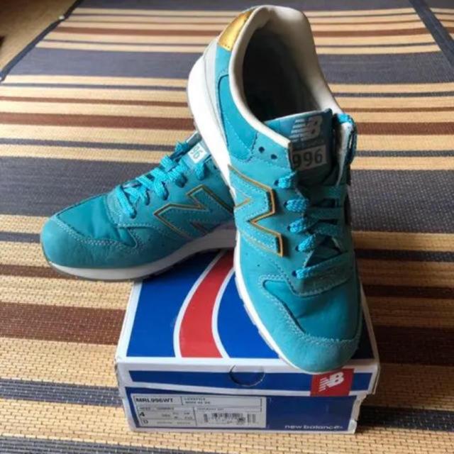 New Balance(ニューバランス)の[希少サイズ]MRL996WT 22.0cm レディースの靴/シューズ(スニーカー)の商品写真