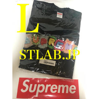Supreme - 黒 L 19AW Supreme Pillows Tee ピローズT