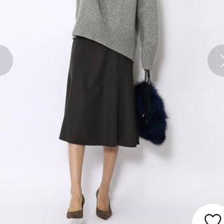 TOMORROWLAND - TOMORROWLAND BALLSEY ウールメルトン マーメイドスカート
