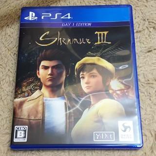PlayStation4 - シェンムーIII(リテールDay1エディション) PS4