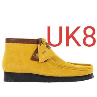 クラークス(Clarks)のCLARKS Wu Wear Wallabee Yellow Suede UK8(ブーツ)