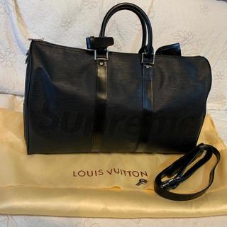 LOUIS VUITTON - LOUIS VUITTON 黒 ボストンバッグ ノベルティ