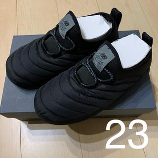 ニューバランス(New Balance)のニューバランス モックシューズ ブラック 23 23.5(スリッポン/モカシン)
