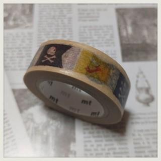 エムティー(mt)の★ 中古 mt ガチャあたり 海賊 マスキングテープ(テープ/マスキングテープ)