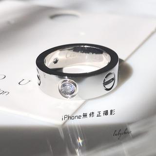 ✨高品質✨レディースステンレスリング シルバー(リング(指輪))
