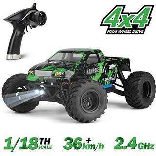 ラジコンカー HBX リモコンカー 1/18 スケール 4WD RTR