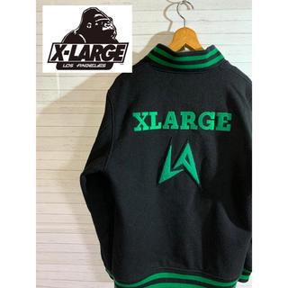 エクストララージ(XLARGE)の【X-LARGE】エクストラージ スタジャン ビックロゴ 刺繍(スタジャン)