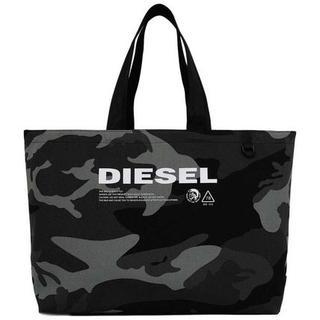 DIESEL - Diesel トートバッグ カモフラ 横長 グレー ディーゼル
