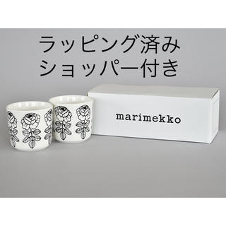 marimekko - 新品レア入手困難 マリメッコ  ヴィヒキルースラテマグ ブラック ラッピング済み