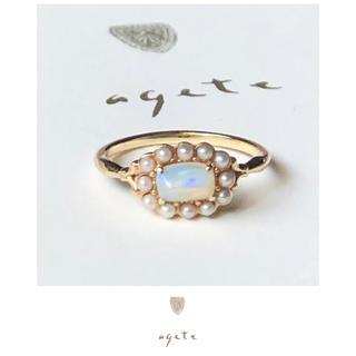 agete - ★本日限定★agete classic♡オパール&ベビーパールリング♡希少