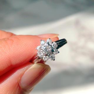 ボーナスセール!【新品】指輪 ダイヤモンド 0.5ct 鑑別書  リング(リング(指輪))