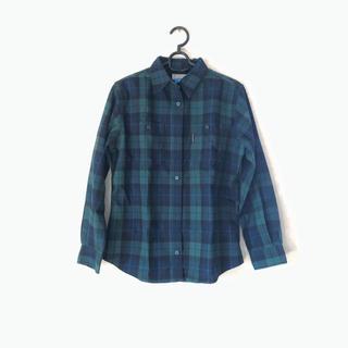 Columbia - columbia 厚手 チェックシャツ