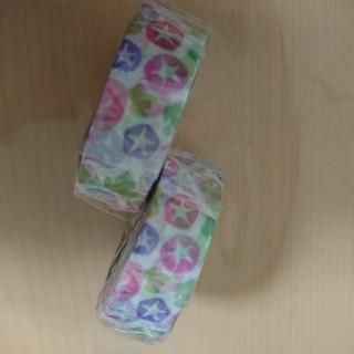 エムティー(mt)のmtex●朝顔マスキングテープ!二本セット!(テープ/マスキングテープ)