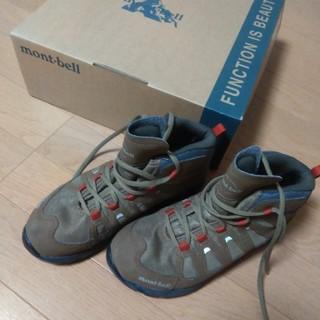 モンベル(mont bell)の【中古】モンベル 子供 ラップランドブーツ22cm(ブーツ)