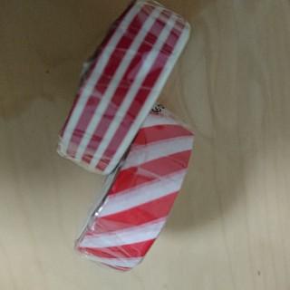 エムティー(mt)のmtボーダー赤&ストライプ赤マスキングテープ!(テープ/マスキングテープ)