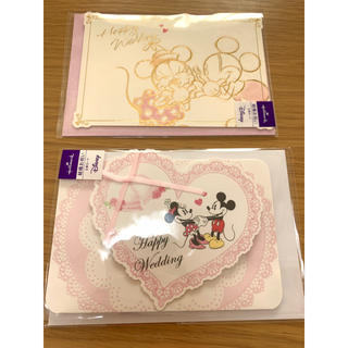 Disney - 結婚 お祝い メッセージカード