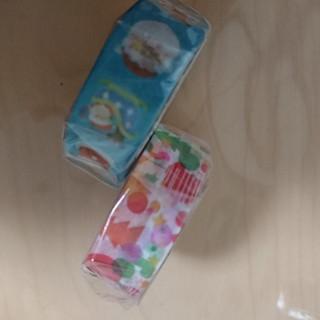 エムティー(mt)のmt2019水彩サンタ&砂糖がしサンタクロースマスキングテープ!(テープ/マスキングテープ)