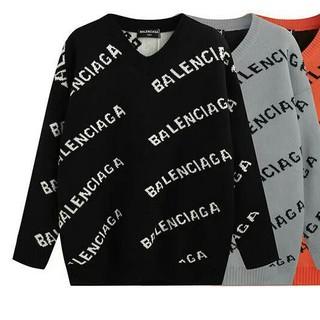 バレンシアガ(Balenciaga)の2枚12000円送料込み 男女兼用 セーター  长袖 美品 (ニット/セーター)