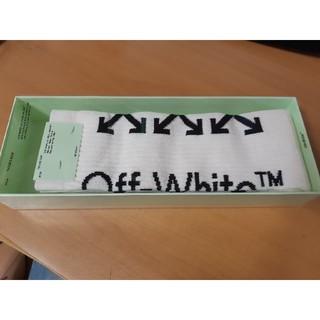 新品未使用 オフホワイト ソックス OFF-WHITE 靴下(ソックス)