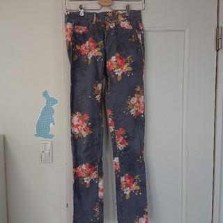 ザラキッズ(ZARA KIDS)の【ZARA】ザラ パンツ ズボン 花柄 キッズ 160(パンツ/スパッツ)