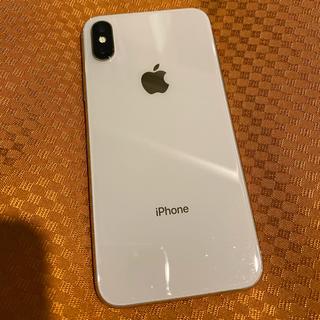 アップル(Apple)の最終値下げ iPhone X 256GB シルバー(スマートフォン本体)