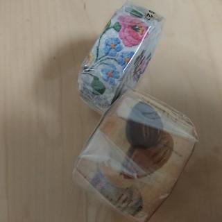 エムティー(mt)のmtex●レースカロチャ&チョコレートマスキングテープ!(テープ/マスキングテープ)