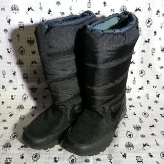 ナイキ(NIKE)のNIKE スノーブーツ 黒 24.0(ブーツ)