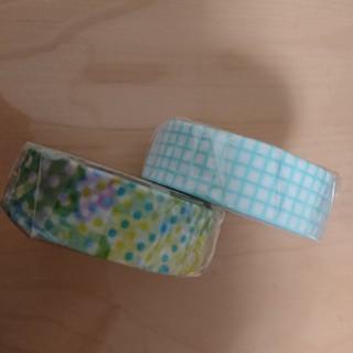 エムティー(mt)のmtねがポジドット&方眼アイスブルーマスキングテープ!(テープ/マスキングテープ)