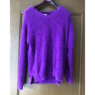 モヘア セーター(ニット/セーター)