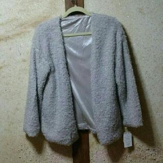 グレイル(GRL)のモコモコ羽織り(毛皮/ファーコート)