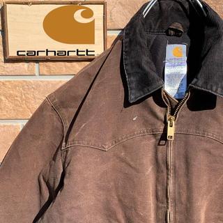 カーハート(carhartt)の【超激レア】90s USA製 カーハート デトロイト ジャケット ワンポイント(ブルゾン)