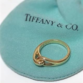 Tiffany & Co. - 【美品】ティファニー K18 リング
