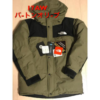 THE NORTH FACE - 17aw the north face mountain down jacket