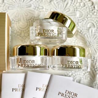 Dior - 【3個✦13,200円分】プレステージ コンサントレユー アイクリーム