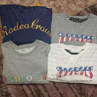 ロデオクラウンズ(RODEO CROWNS)のロデオクラウンズ まとめ売り「4枚」(トレーナー/スウェット)