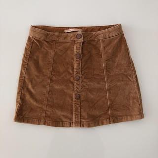 ザラキッズ(ZARA KIDS)のZARA KIDS フロントボタンスカート(スカート)